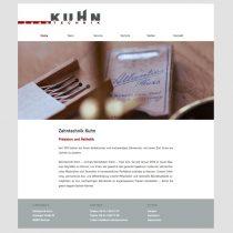 Internetseite Zahntechniklabor