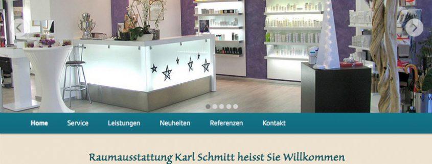 Website für Raumausstatter Ammersee