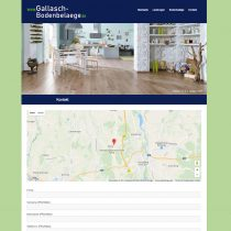 Website für Bodenleger