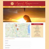 Webdesign für Ayurvedamassagen Landsberg