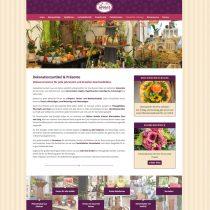 Webdesign Blumenladen Schwabmünchen