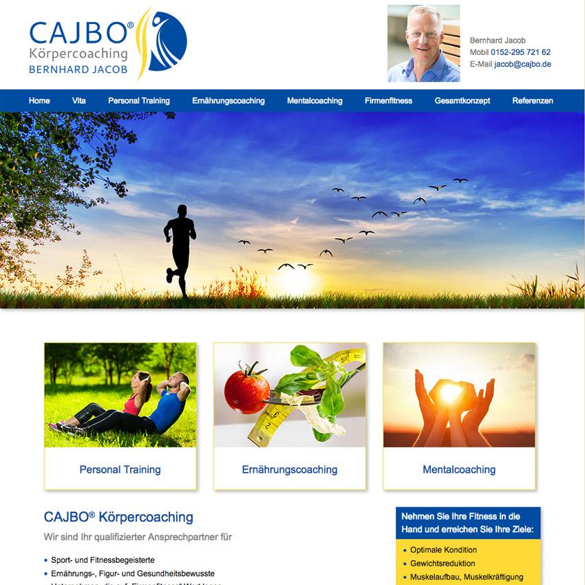 Internetauftritt Cajbo Schwifting