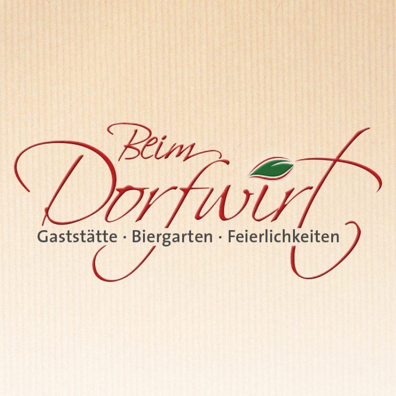 Corporate Design Gaststätte