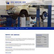 Responsive webiste KFZ-Werstatt