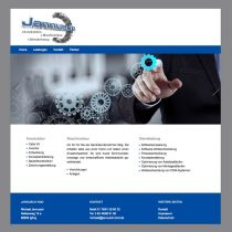 Website mit Content Management System