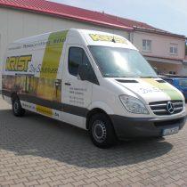Werbebeschriftungen Transporter