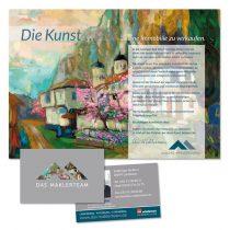 Werbedrucksachen, Visitenkarten, Plakate
