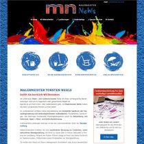 Internetseite mit Content Management System