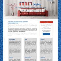 Internetseite für Malerbetrieb