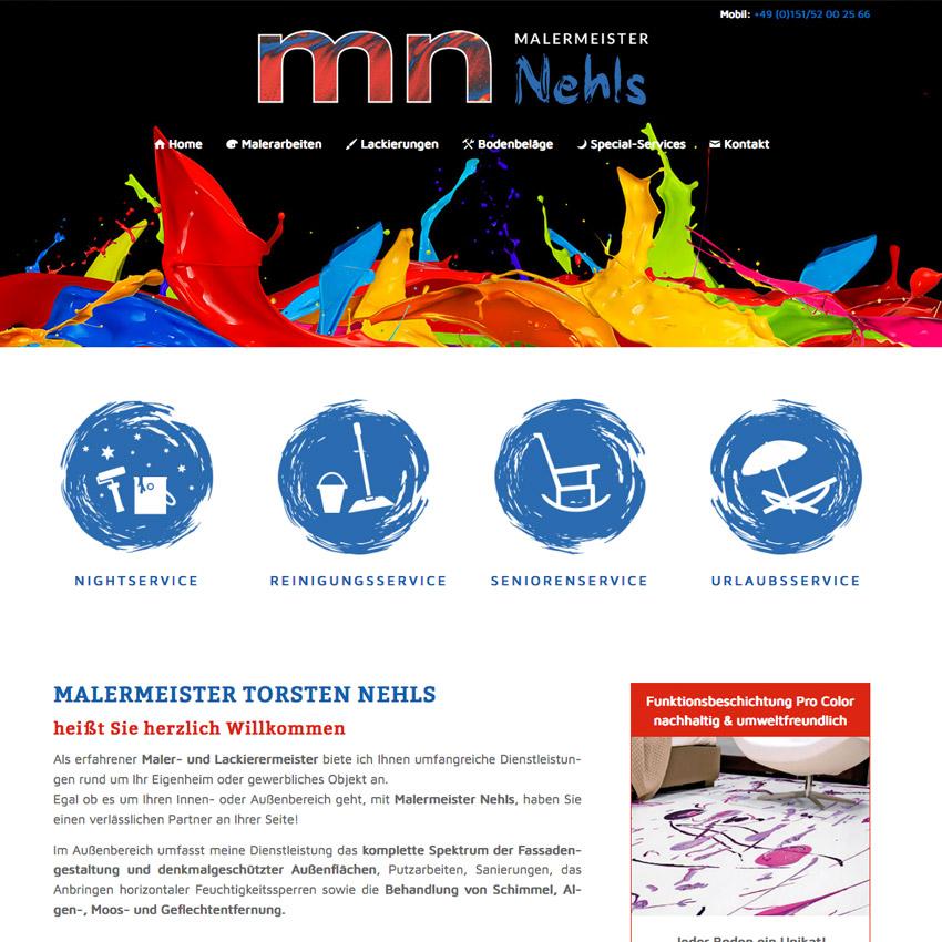 Internetseite für Maler, Penzing