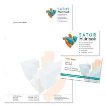 Erstellung Briefpapier, Visitenkarten