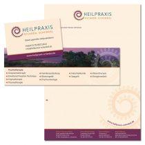 Gestaltung Briefpapier, Visitenkarten