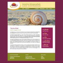 Design Internetseite für Heilpraktikerin