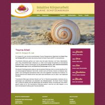 Responsive Website für Heilpraktikerin