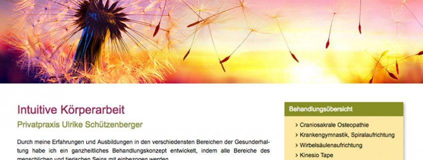 Website für Heilpraktikerin Buchloe