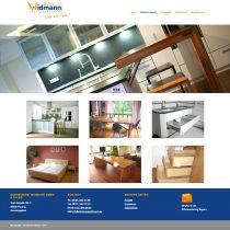 Website mit Bildergalerien