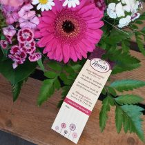 Preishängeschild Blumenladen