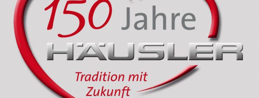 Jubiläumslogo Autohaus Häusler