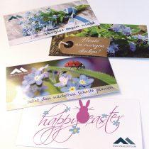 Gestaltung von Postkarten Landsberg, Igling