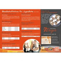 Layout, Druck Folder, Flyer