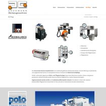 Website Grohmann Maschinen Kaufering