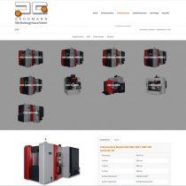 Internetseite für Grohmann Maschinen Kaufering