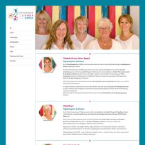 Physiotherapie Ammersee Internetseite