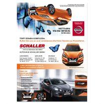 Werbeaktion Autohaus Design