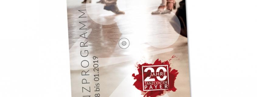 Tanzcenter Payer Programmbroschüre